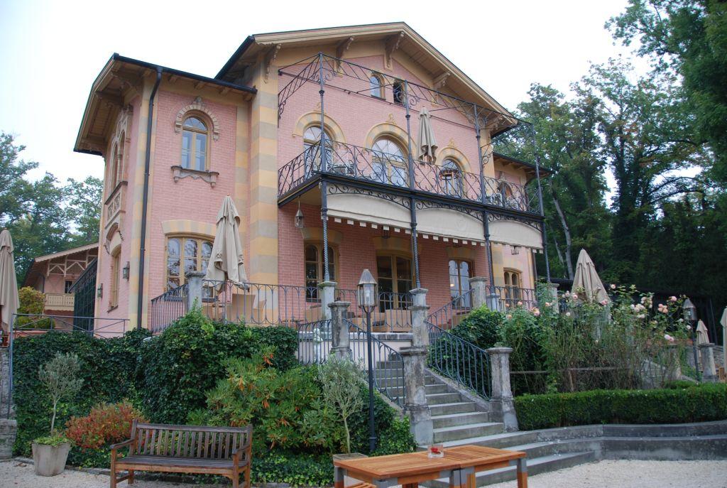 Das La Villa am Starnberger See bei München, Konferenzhotel der AMD09