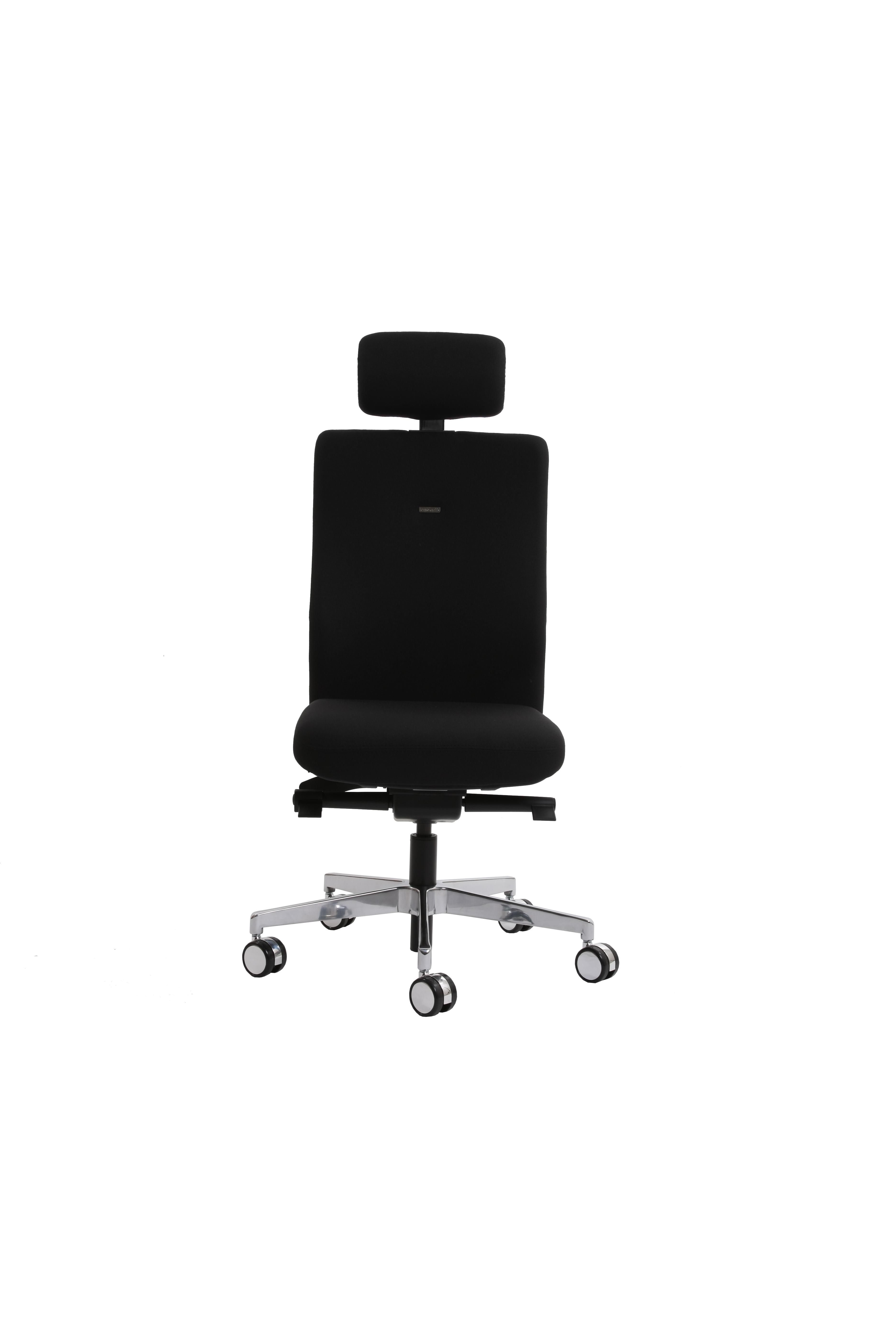 Ergonomischer Bürostuhl agilis (schwarz)