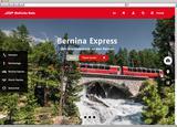 Die neue Website der Rhätischen Bahn