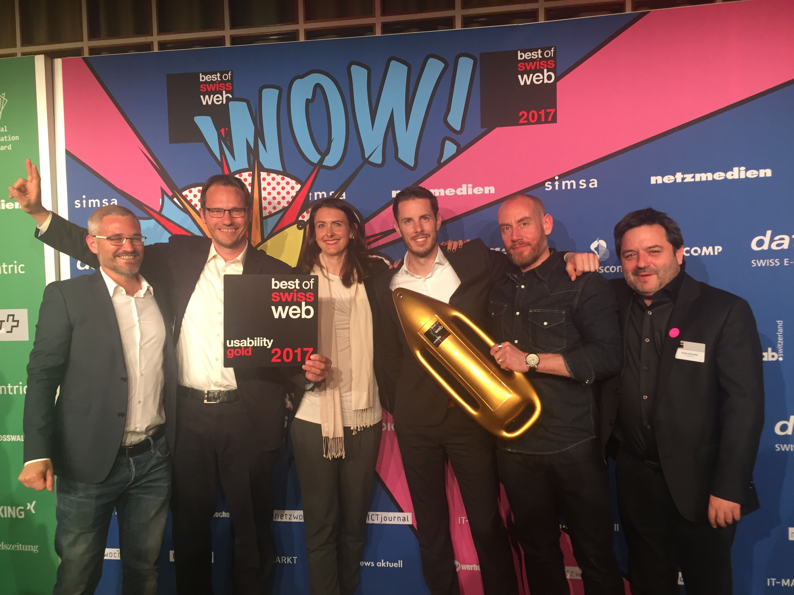 Unic_Mammut_Best of Swiss Web Award 2017