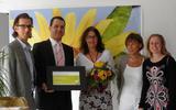 Foto (v.l.n.r.): Volker Meyer, Andreas Köninger, Andrea Weber, Monika Flor und Ulrike Knabe