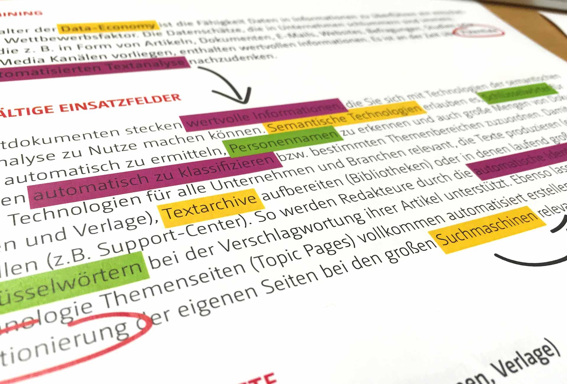 Textanalyse Neofonie