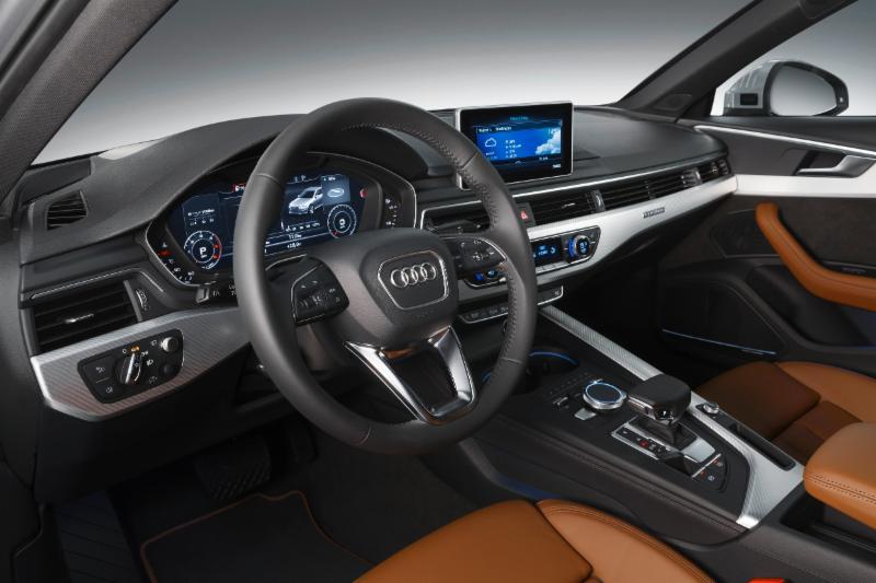 Infotainment des neuen Audi A4 inkl. Virtual Cockpit