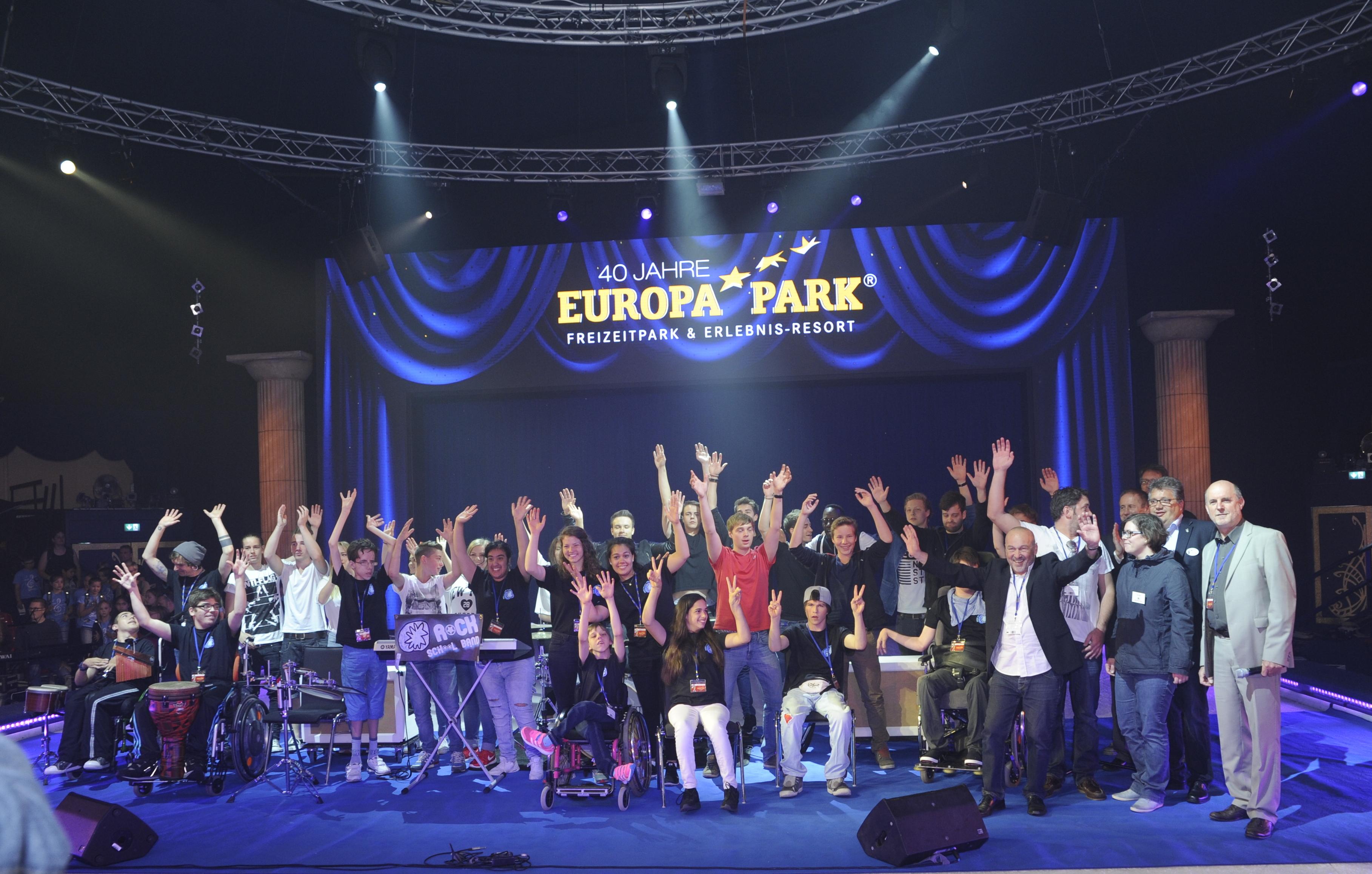 Gruppenbild der Finalisten (2015)