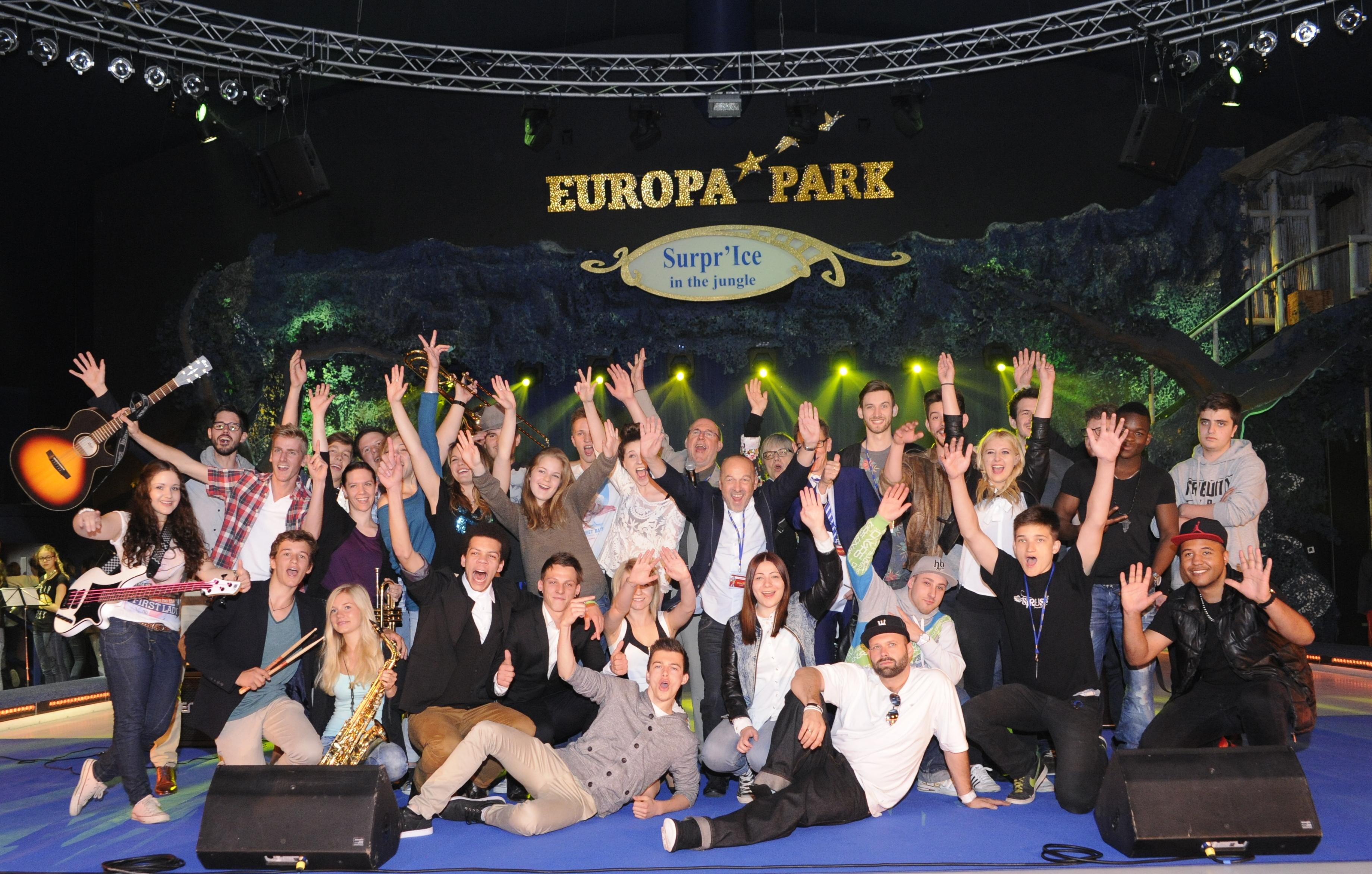 Gruppenbild der Finalisten (2014)
