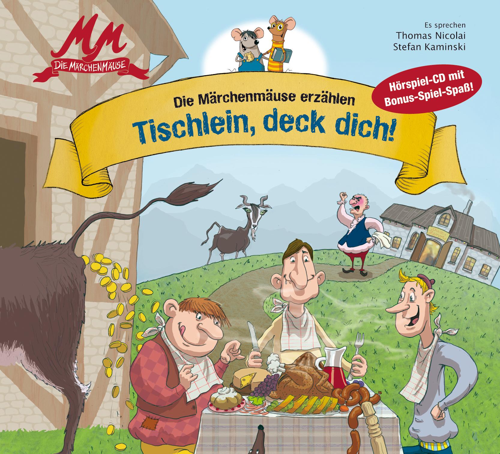 CD Cover Märchenmäuse- Tischlein, deck dich!