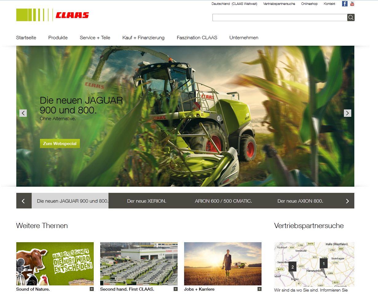 Mit dem BrandMaker Marketing Planer gewinnt CLAAS eine bessere �bersicht �ber seine Marketingaktivit�ten und kann leichter die Spreu vom Weizen trennen.