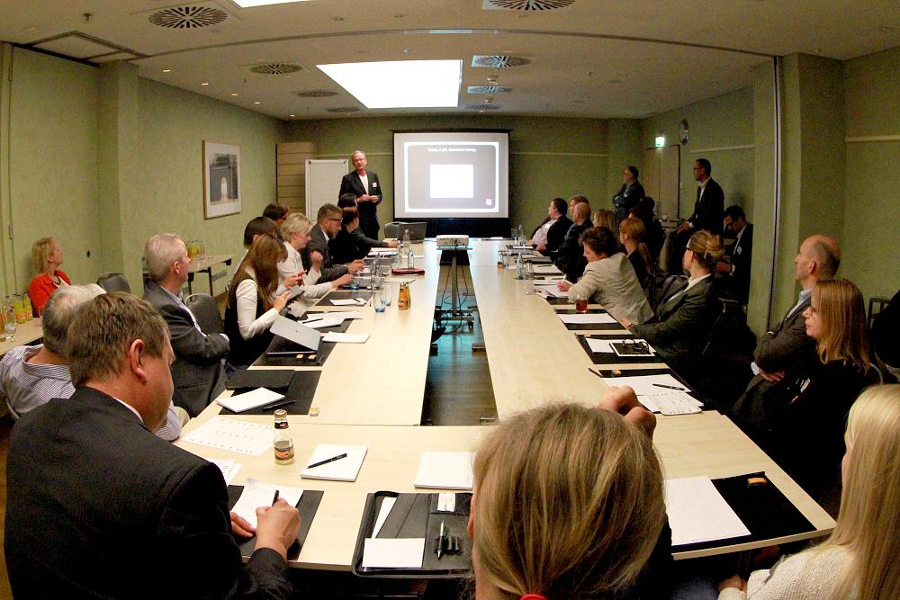 Die neu-geschaffenen Roundtables nutzten die Konferenz-Besucher, um ausgew�hlte Fragestellungen mit anerkannten Experten zu diskutieren.