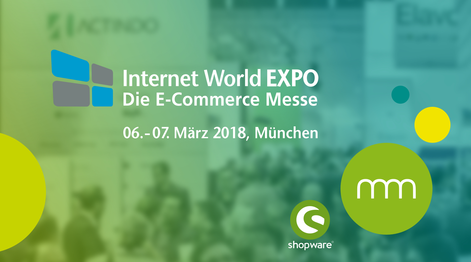 communicode mit shopware auf der Internet World 2018