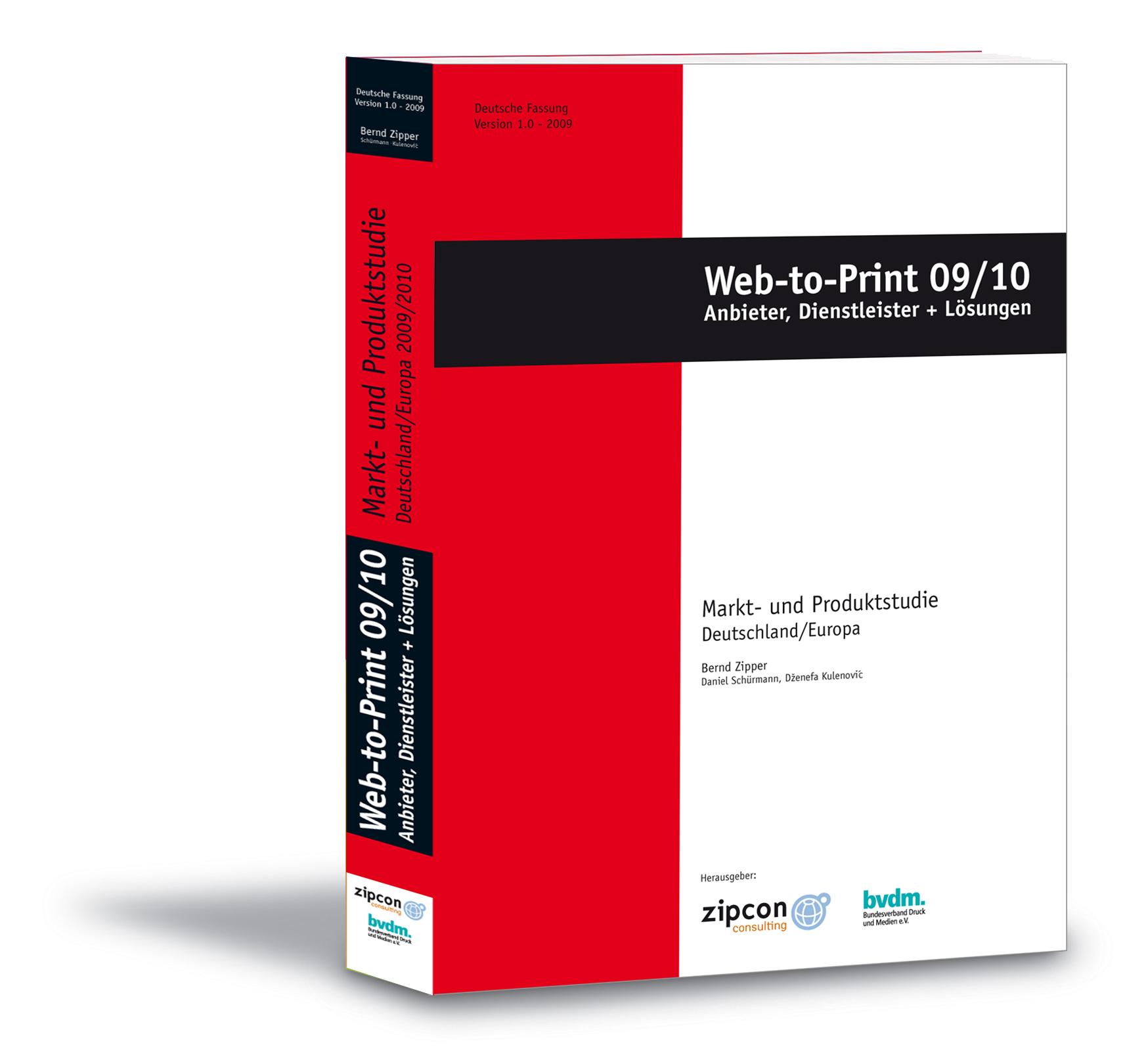 Web2Print Studie 2009/20010