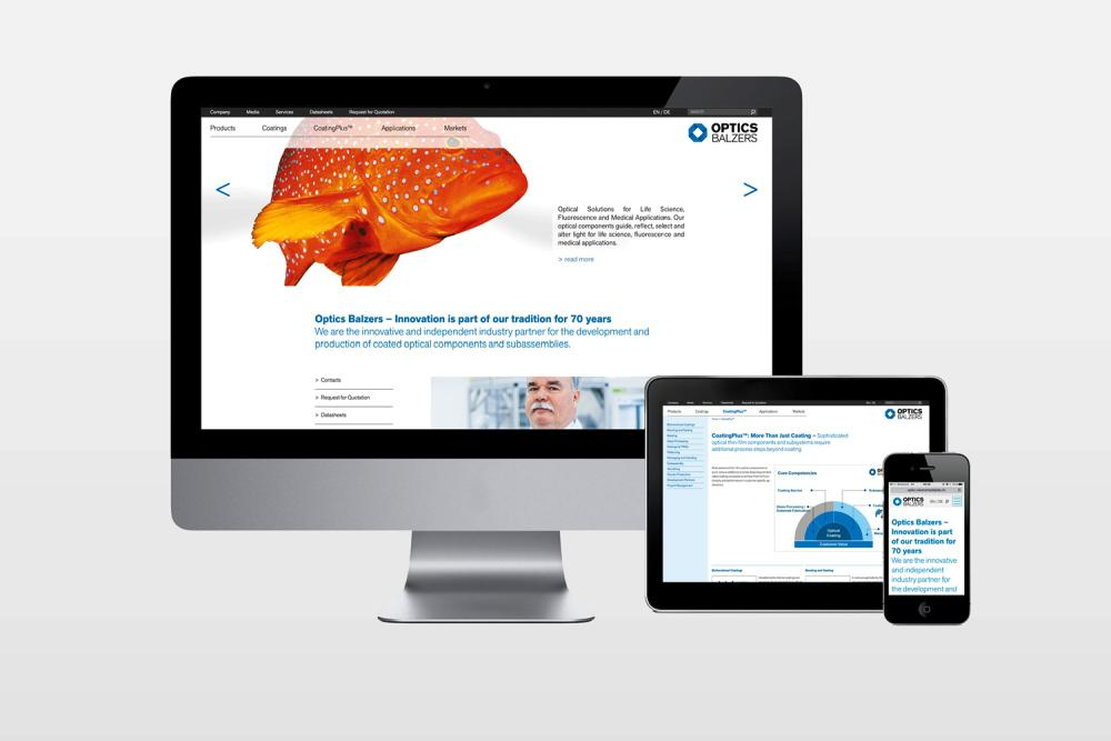 Our new website with its modern design and user-friendly interface offers all kinds of information on coating technology