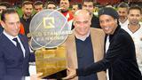 GSB Gold Standard Banking - Wohltätigkeit mit Weltfußballern