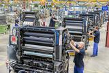 Heidelberger Druckmaschinen AG - Produktionshalle in Heidelberg