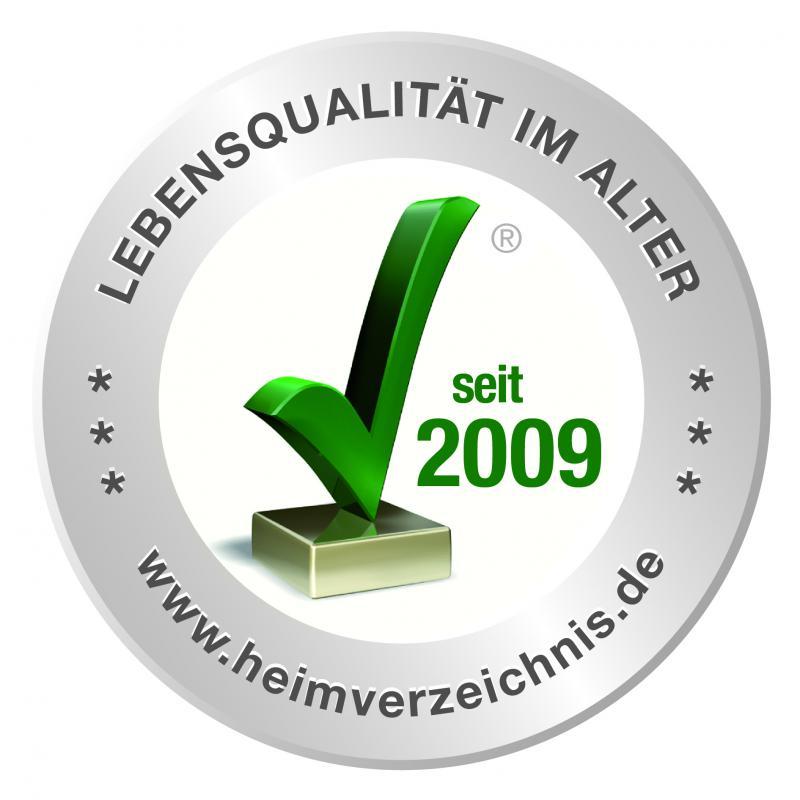 Siegel 'Lebensqualität im Alter' www.heimverzeichnis.de