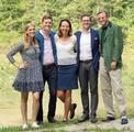 Hallstein Artesian Water Gründerfamlie Stephanie, Alexander, Elisabeth, Phillip und Karlhein Muhr