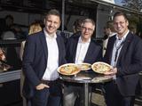 Feiert die 500 Mitarbeiter-Marke: Die Laudert-Geschäftsleitung