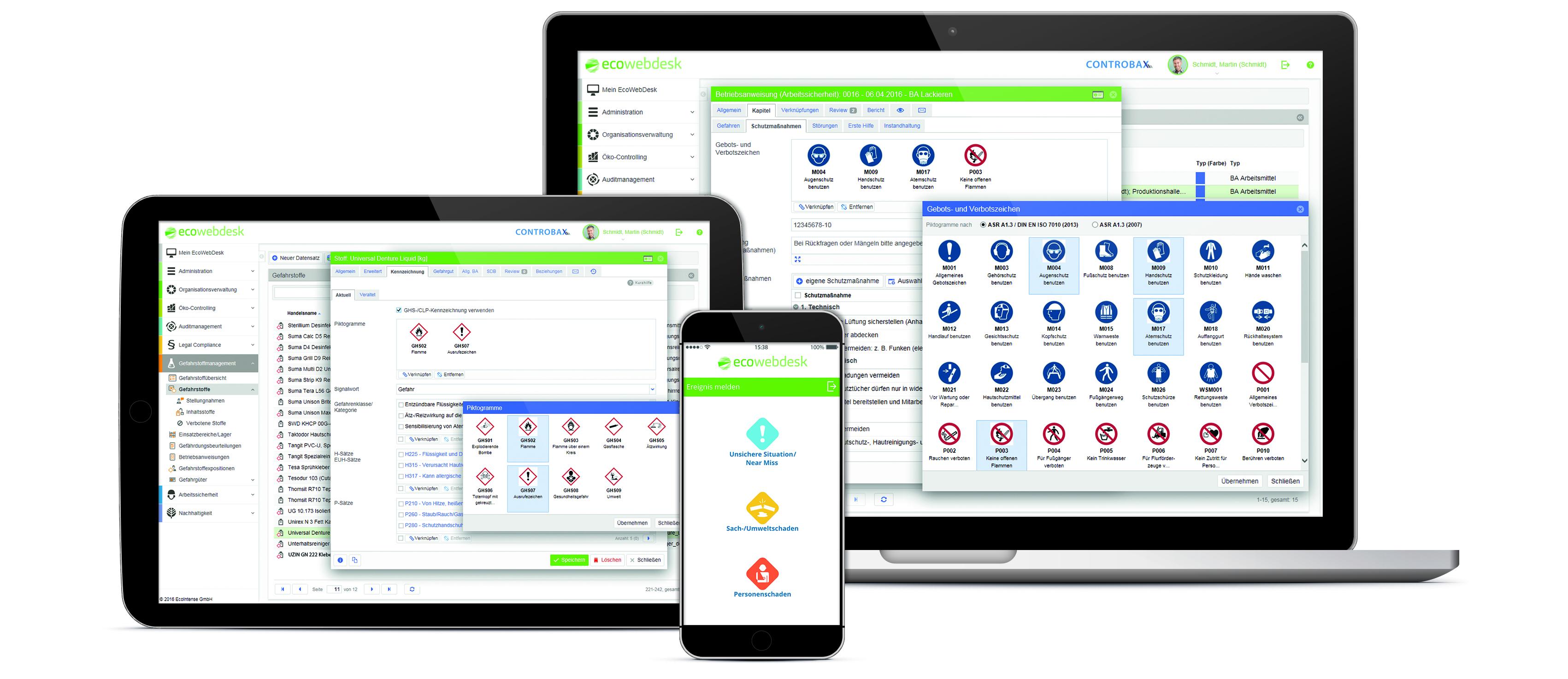 Die Online-Lösung EcoWebDesk ist jetzt in der Version 10.2 erschienen.