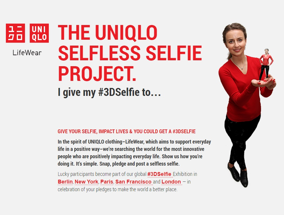 The Selfless Selfie Project