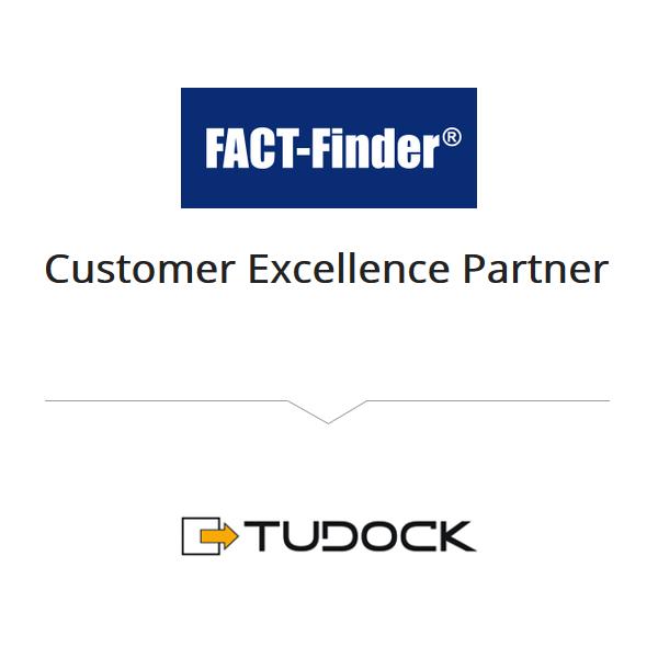 Tudock ist Customer Ecxellence Partner von Fact-Finder