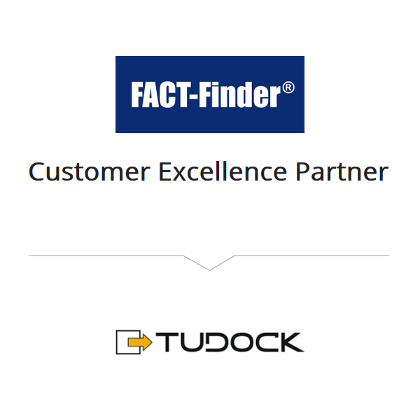 Tudock ist Customer Ecxellence Partner von Fact-Finder